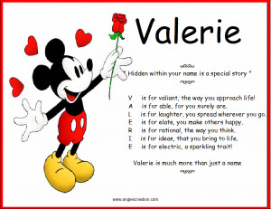 Valerie Meaning Of Name Valerie Nameberry
