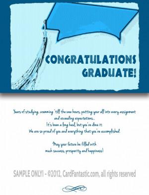 Graduation Congratulation Cards Congratulations card #005
