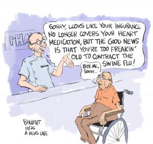 Cartoon: Overheard at the Local Pharmacy
