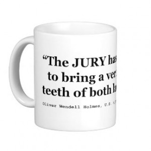 Jury Nullification Quote by Oliver Wendell Holmes Coffee Mugs