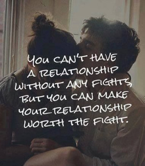 Make your relationship worth the fight