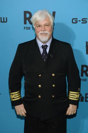 Paul Watson Captain Paul Watson of Sea Shepherd Conservation attends