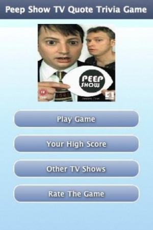 View bigger - Peep Show TV Quote Trivia Game for Android screenshot