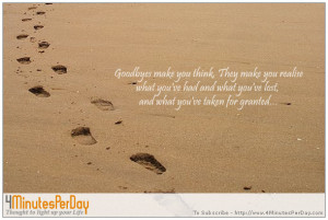 Quotes That Make You Think And Smile Goodbyes make you think