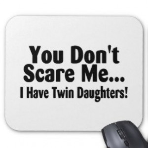 quotes about mother of twins | Funny Mothers Day Sayings Mouse Pads