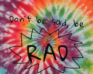 Writing Rad Truth Sad...