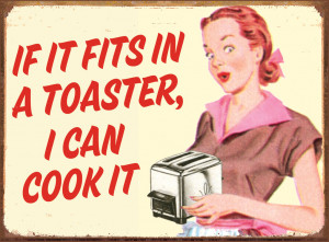 TOASTER - COOK IT Tin Signs, Metal Signs | Sold at EuroPosters