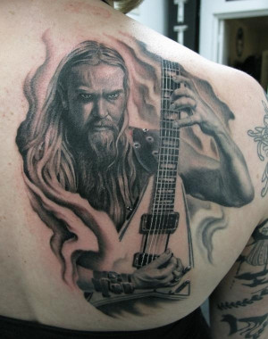 Zakk Wylde From Ron Picture