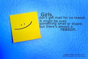 3Girls don t get mad quote