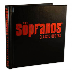 the sopranos classic quotes book available for pre order