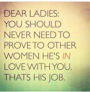 Dear ladies
