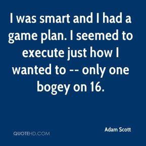 Game plan Quotes