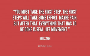 take the first step quote source http quotes lifehack org quote ben ...