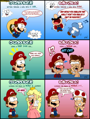 Funny Pictures Of Mario Gallery
