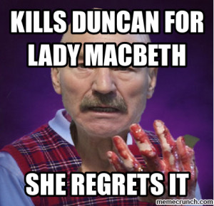 An explanation of the importance of blood in macbeth