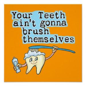 Funny Disney Vacation Quotes Dental Office Artwork