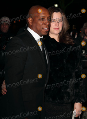 Ian Wright Picture London UK Ian Wright and Debbie Marsh at the