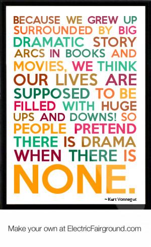 Kurt Vonnegut Art Quote