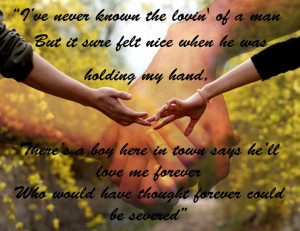 Young Quotes And Sayings: I Hold Your Hand My Friends And We Will Be ...
