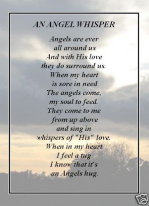 continue reading beautiful verse we all have an angel posted