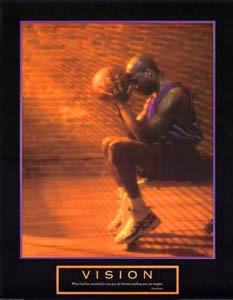 VISION Motivational Inspirational Basketball Poster Print - Oprah ...