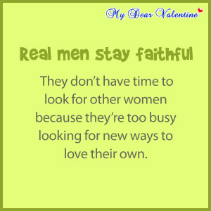 mydearvalentine.comboyfriend quotes - Real man