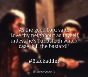 Blackadder Quotes