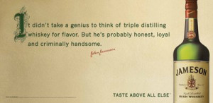 Jameson Whiskey is the best selling Irish whiskey in the world, and ...