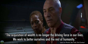 hurry up star trek... - (first contact)(picard)(quote) - #startrek # ...