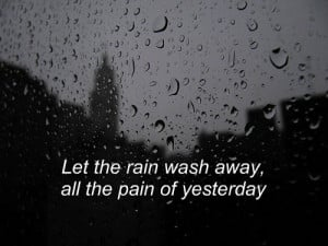 Alone Lonely Loneliness Dark Weather Bad Sad Positive Text Quote Wash ...