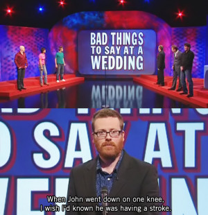 The gloriously un-PC musings of Mock the Week star Frankie Boyle: