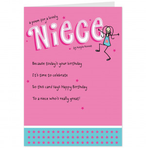 related pictures niece birthday cards more niece birthday cards