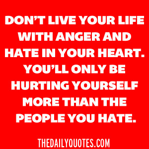 Anger And Hate