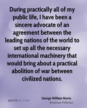George William Norris Quotes