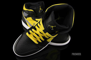 Air Jordan Phat Black Yellow