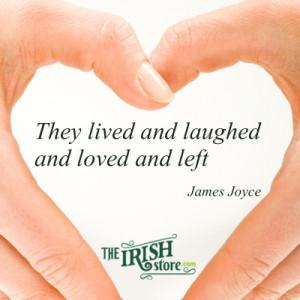20 Romantic Irish Quotes