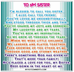 Sister Quotes Friends By Choice ~ sisters by chance friends by choice