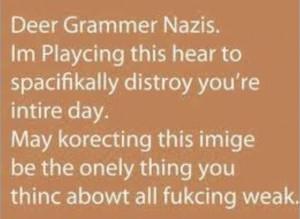 grammar nazi funny quotes