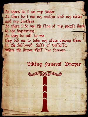 Viking Funeral Prayer by SkaldicProductions