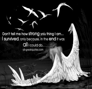 ... because, in the end it was all I could do - Picture Quotes About Death