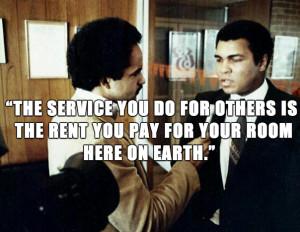 Muhammad Ali Trash Talk Quote