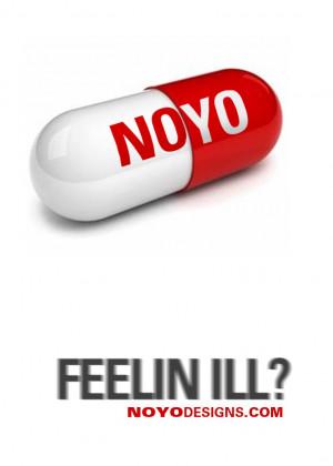 FEELING ILL? (print) - Noyo Designs