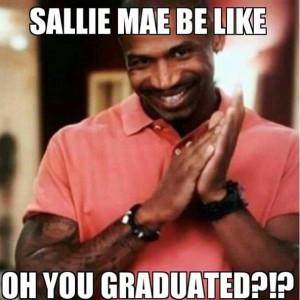 Bwhahahah! Sallie Mae dons the