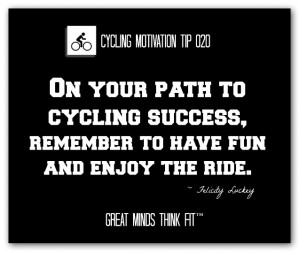 Cycling Motivation Tip and Quote #020