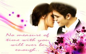 Edward and Bella Breaking Dawn wallpapers