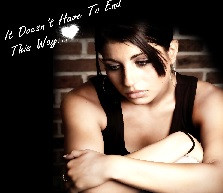 sad quotes for him, sad love quotations, it does not have to end this ...