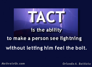 Tips On Being Tactful