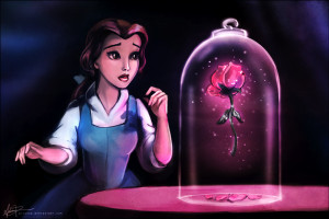 Disney Princess Beauty meets the Beast