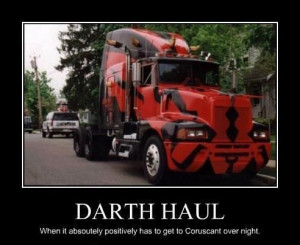 Star Wars Trucking Humor