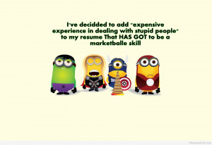 Funny minions avengers quotes 2015